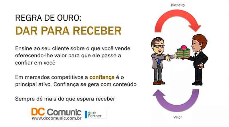 Serviços de Marketing Digital regra de ouro