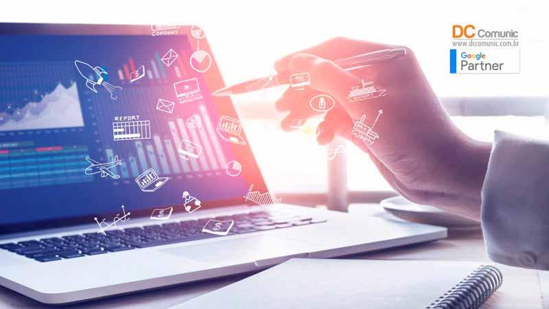 Criação de sites profissionais crescimento constante
